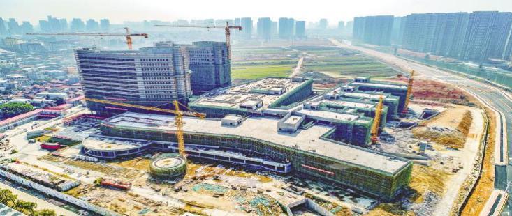 涵江医院新址在建(图片来源湄洲日报)