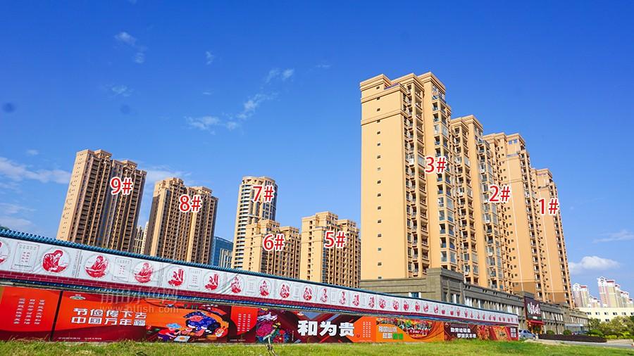凤达凤翔城实景图(沿荔园路)