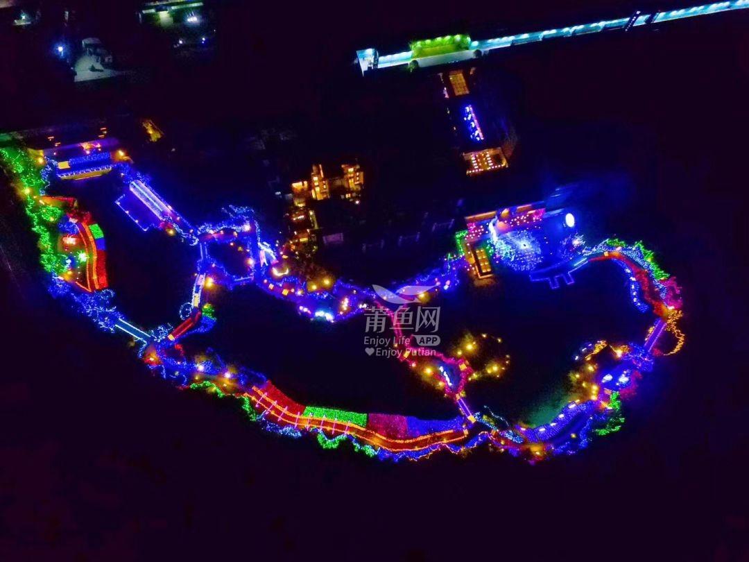 【正荣|白棠云麓】3000万盏灯启幕湖畔灯光节