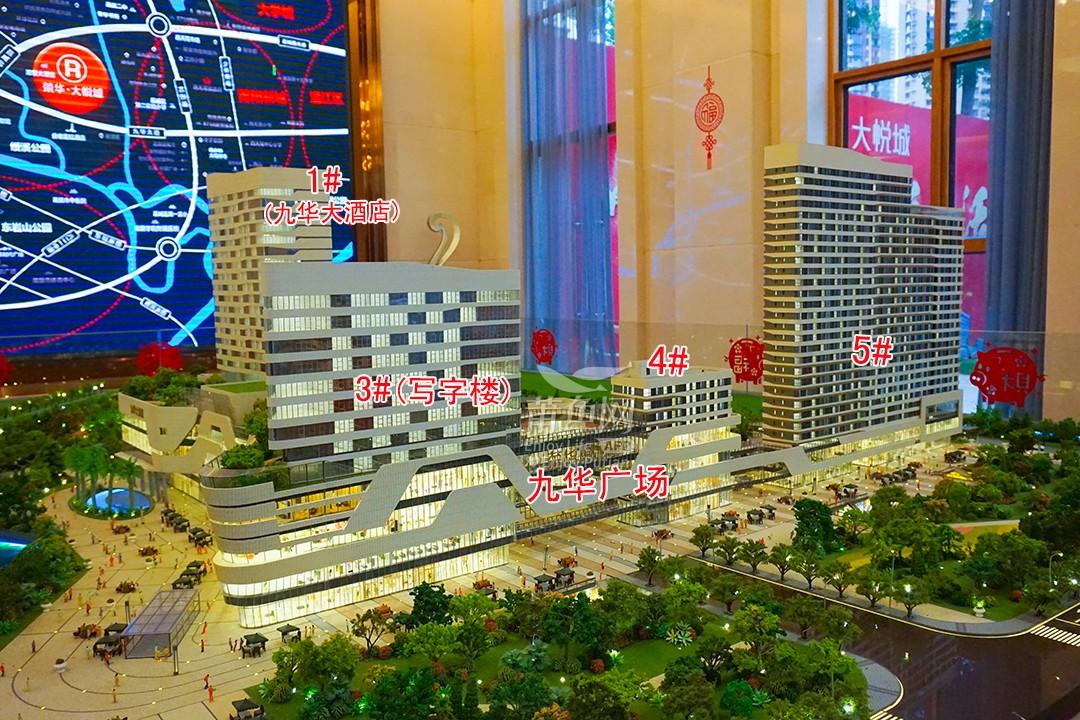 威廉希尔中文网站  荣华大悦城沙盘图
