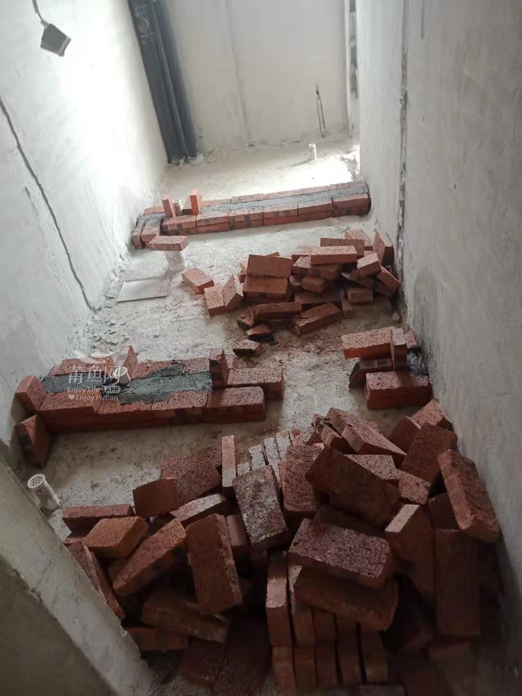 因为干湿分离,多了一堵墙