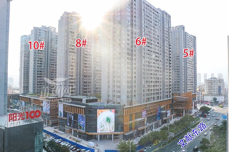 阳光100凤凰广场:建面约23-400㎡城芯旺铺火热销售中